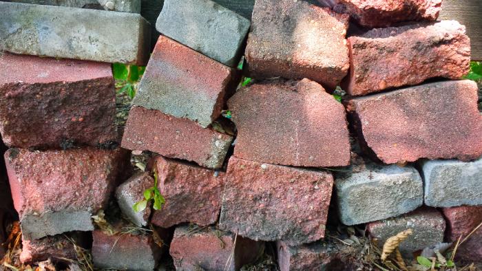 Brick wall. Photo: Toban Dyck.