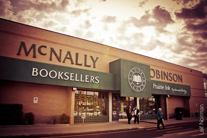 McNally Robinson's Grant Park Mall location. Photo credit: Leif Norman