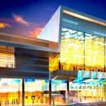 A drawing of the new expansion of the Winnipeg Convention Centre on York Ave.
